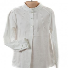 Startsmart Ecru Ruffle Neck Blouse